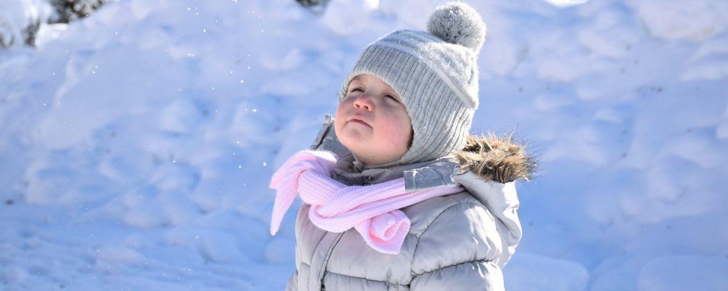 Banner: Babys richtig vor der Kälte schützen
