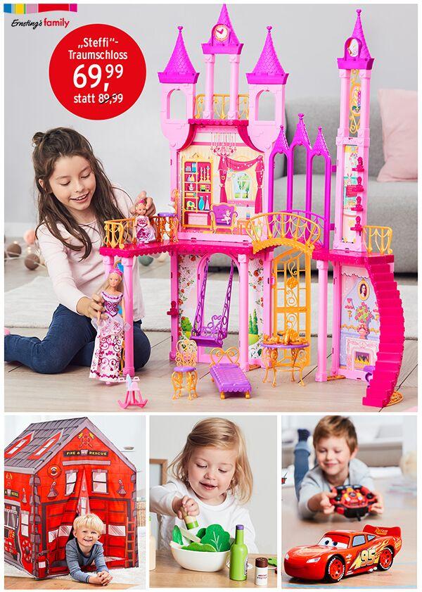 Spielzeug Zusammenstellung mit großen Schloss