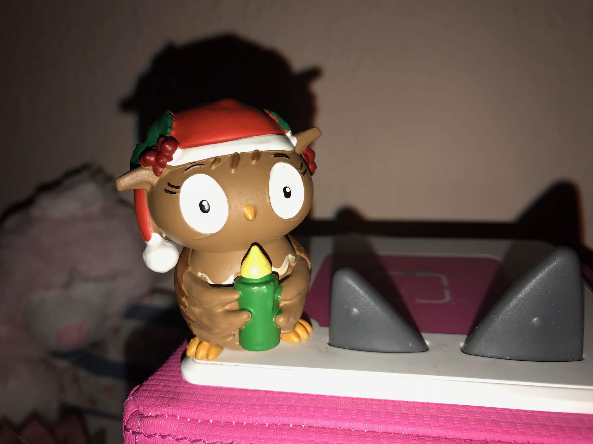die kleine eule feuert weihnachten Tonie Figur