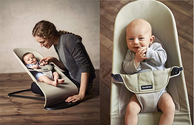 BAby in Babywippe