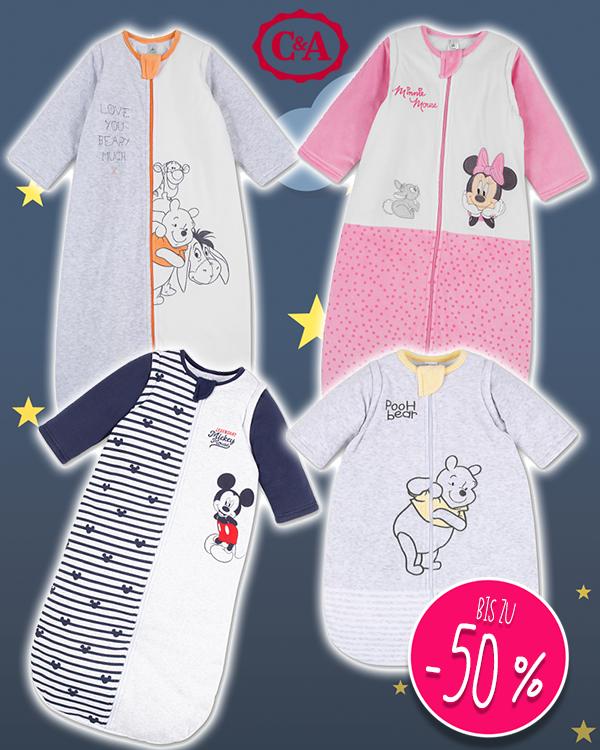 C&A Schlafsäcke mit Disneyprints