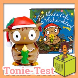 Die kleine Eule feiert Weihnachten - die Toniefigur