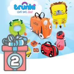 Adventskalender Türchen 2 Trunki Set