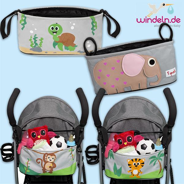 Zusammenstellung Kinderwagentaschern