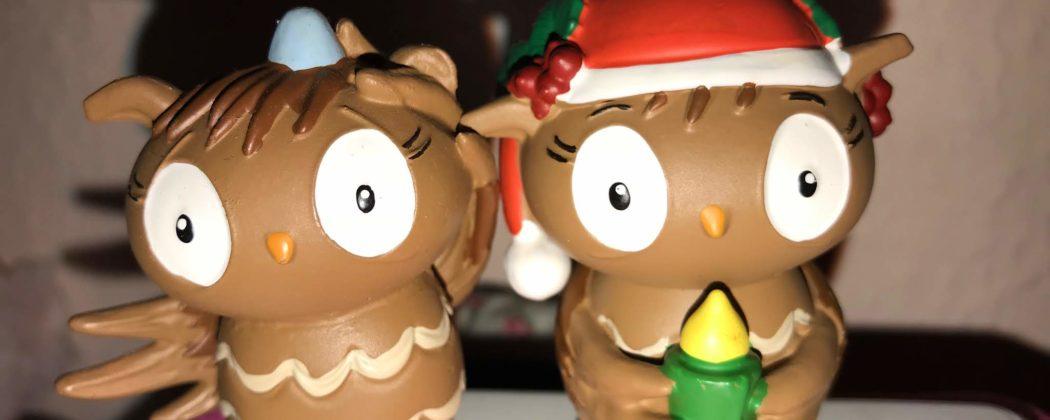 Banner: Die kleine Eule feiert Weihnachten – die Toniefigur