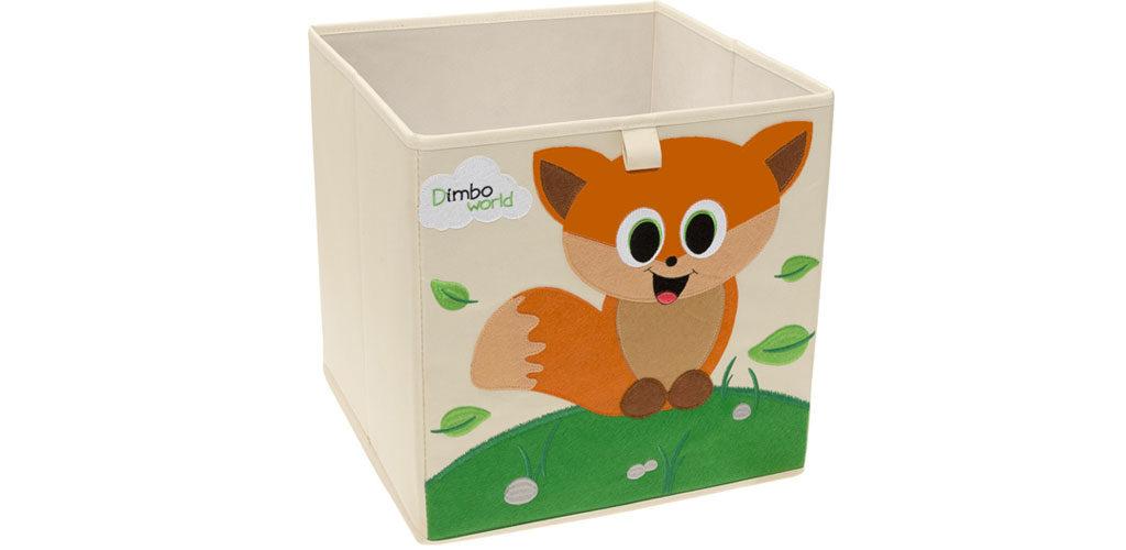 Aufbewahrungsbox Dimbo mit Fuchs