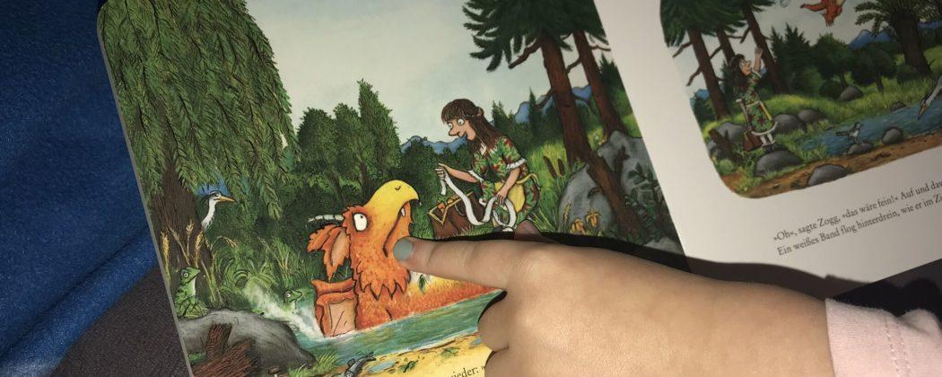 Banner: Zogg – die Geschichte des kleinen Drachen