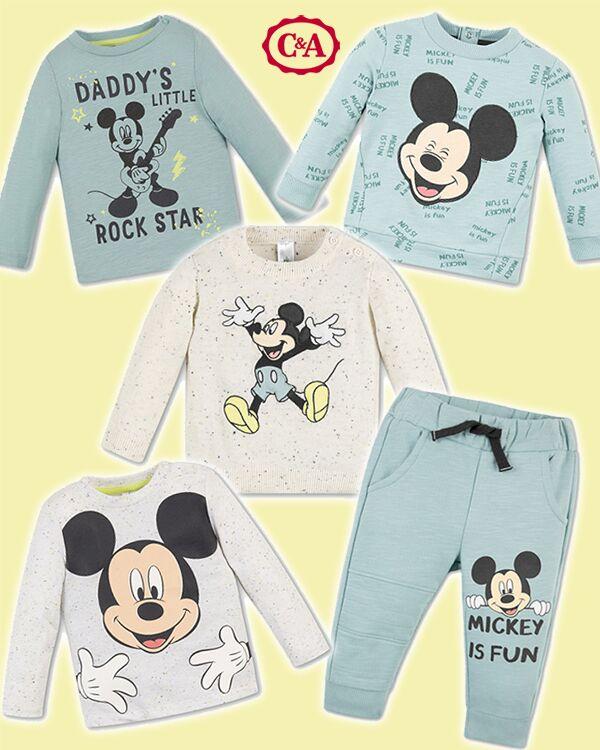 Micky Maus Mode zusammenstellung