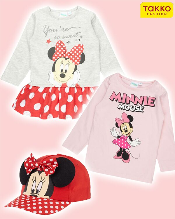 Minnie Maus Mädchenmode