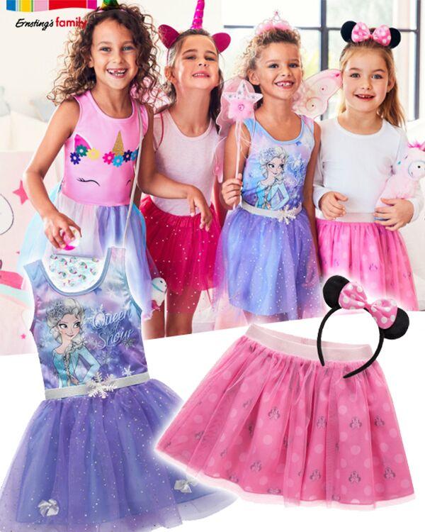 Mädchen tragen glitzeroutfits