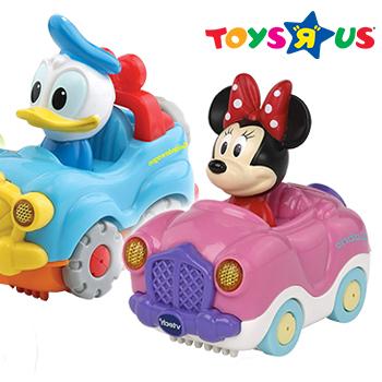 Tut Tut Disney Spielzeugautos mit Donald und Minnie Maus