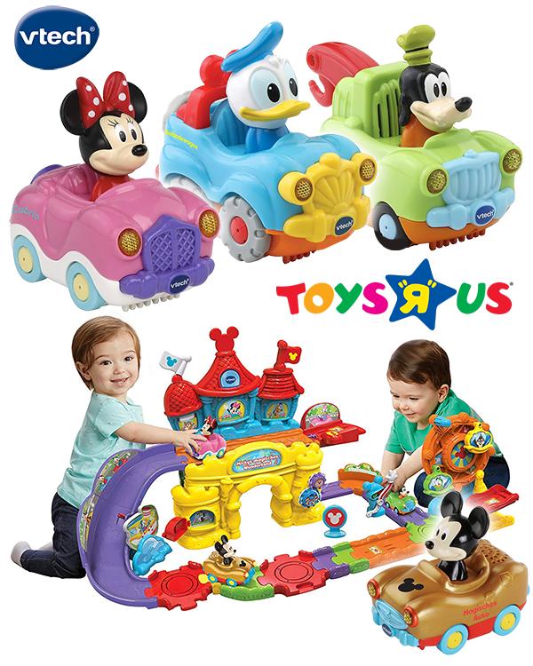 VTech Tut Tut Disneyflitzer im Disneydesign