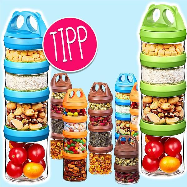 Snackboxen Zusammenstellung