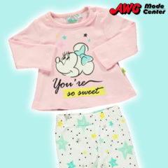 rosa türkises Minnie Outfit