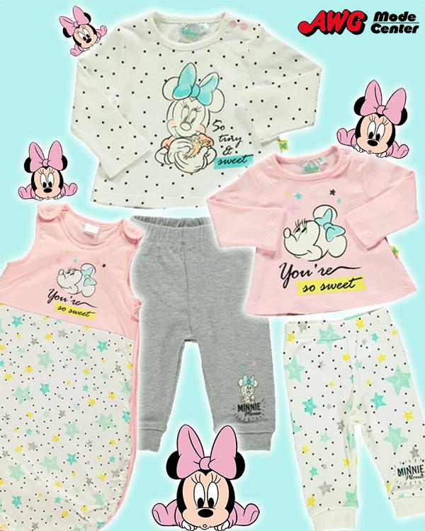 Minnie Maus Mode in rosa blau