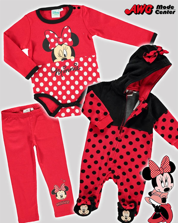 Minnie Maus in rot