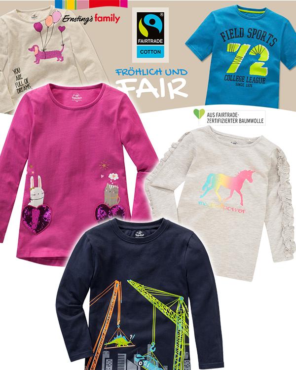 Ernsting's Family fairtrade Mode fröhlich und Fair