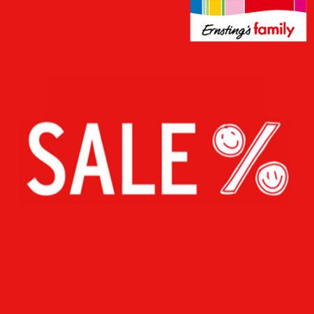 Ernsting's Family Sale Banner