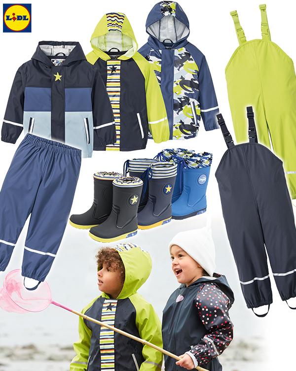Jungen Matschleidung