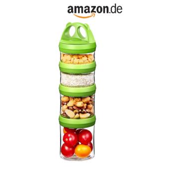 Snackbox in grün