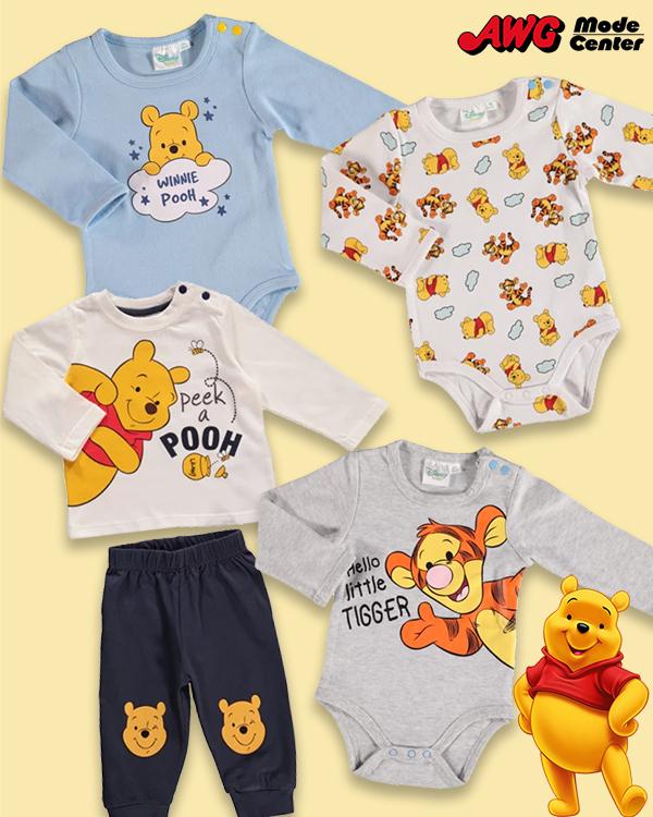 Winnie Pooh Mode Zusammenstellung