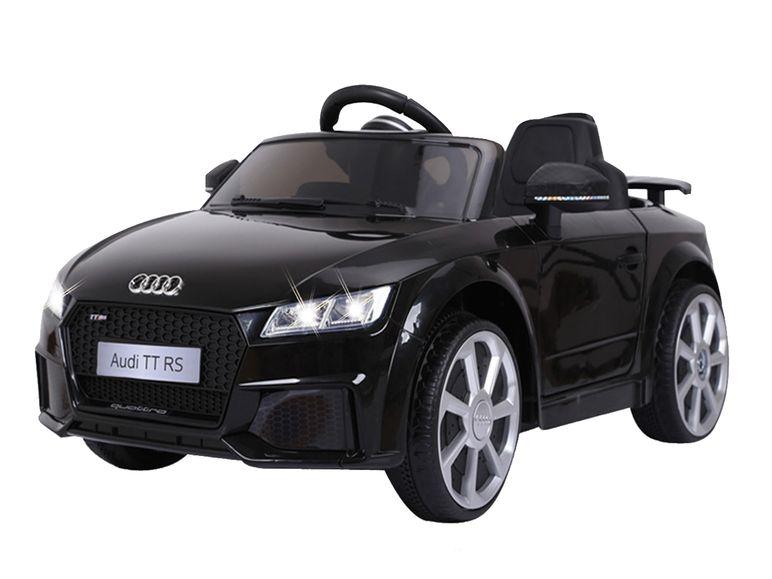 Auto in schwarz
