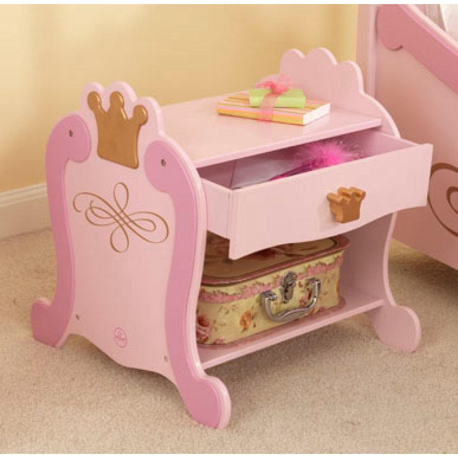 rosaner Nachttisch