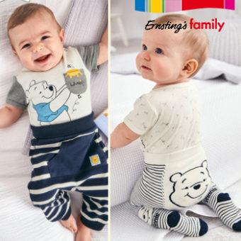 Baby mit Winnie Pooh Mode an