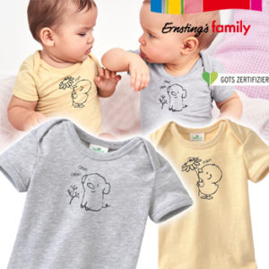 Ernsting's Family: Neue Baby Pure Collection schon ab 3,99€