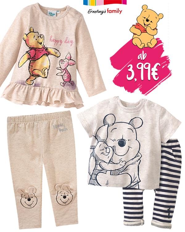 Winnie Pooh Babymode von Ernsting's Family