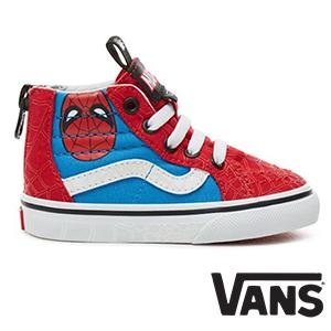 Vans mit Spiderman-Print