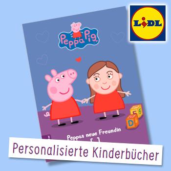 Peppa Wutz personalisiertes Buch