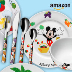 Kindergeschirr mit Disney Motiven von WMF