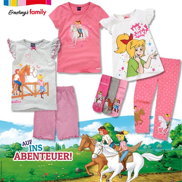 Bibi und Tina Kleinkindermode von Ernsting's Family