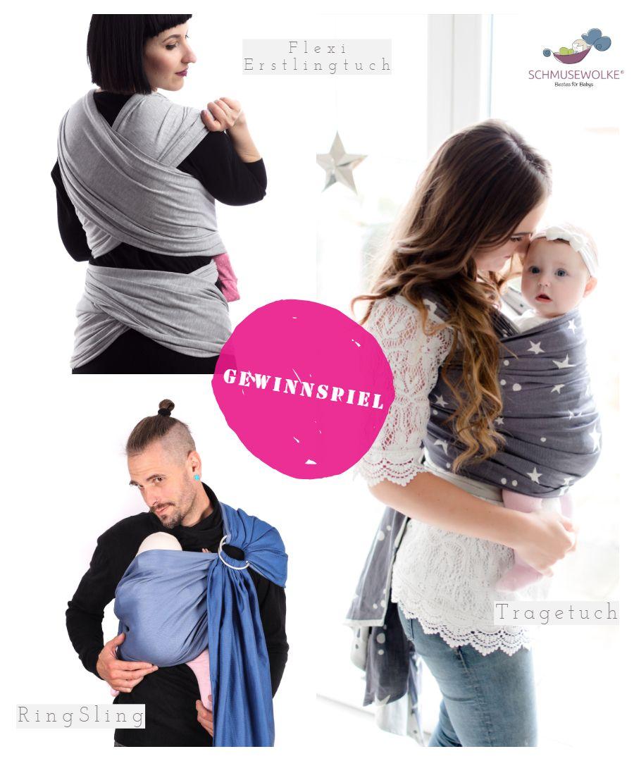 Mütter mit Babys in Tragetüchern