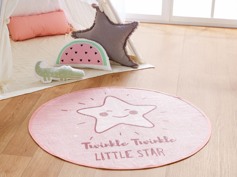 rosaner Sternenteppich