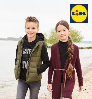 Kinder tragen neue Mode