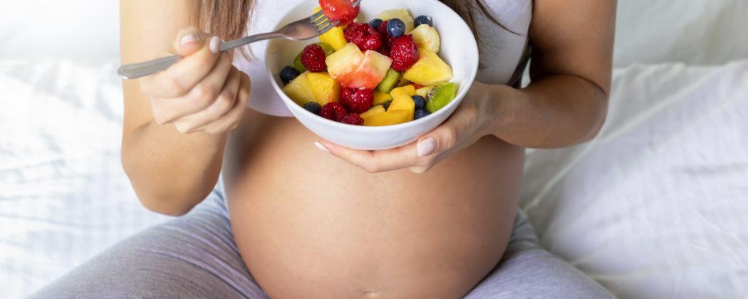 Banner: Ernährung in der Schwangerschaft: Was darf ich essen und was nicht?