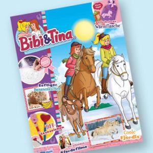 Bibi und Tina Zeitschrift mit 35€ Prämie