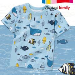 Kindershirt mit Fischprint