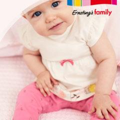 Baby in neuer Ernsting's Family Kollektion