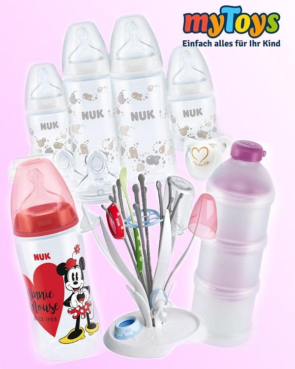 Flaschen und Zubehör
