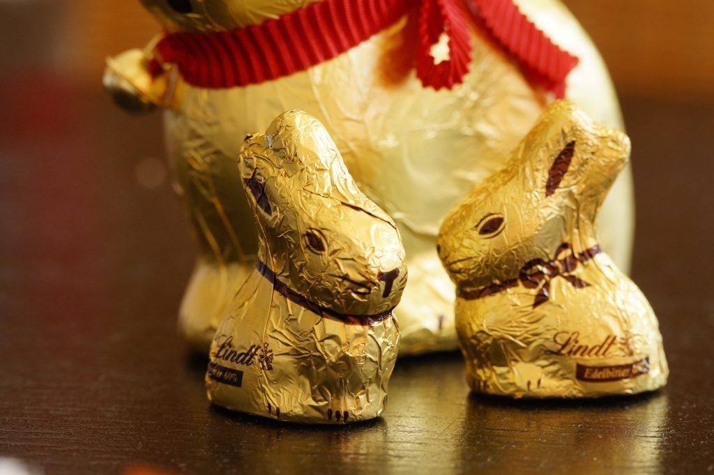 Lindt Osterhasen Schokolade