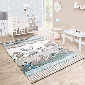 Kinderteppich mit Tierchendesign