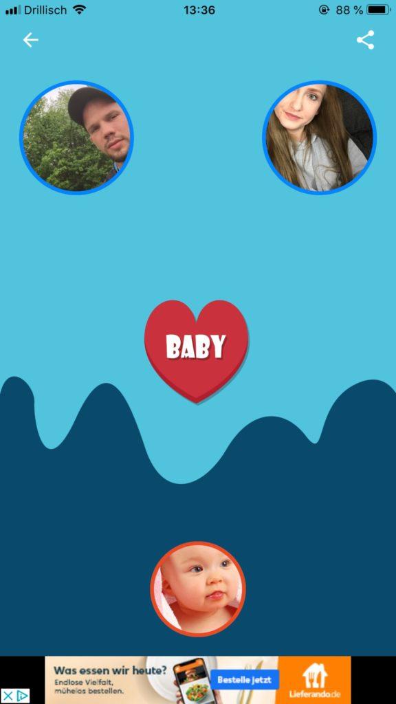 Apple App Baby der Zukunft