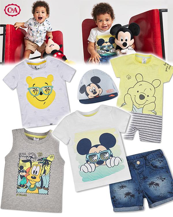 Babymode mit Disneyprints von C&A
