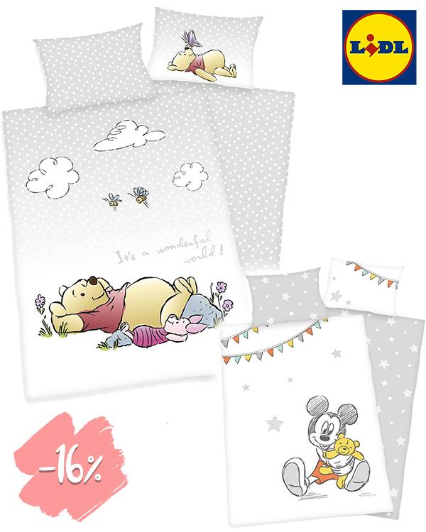 LIDL Bettwäsche mit Disney-Prints