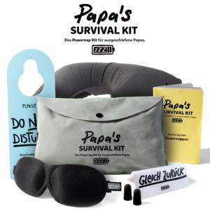Papa Survival Kit – lustige und sinnvolle Geschenkidee