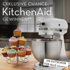 GEWINNSPIEL: KitchenAid gewinnen mit limango!