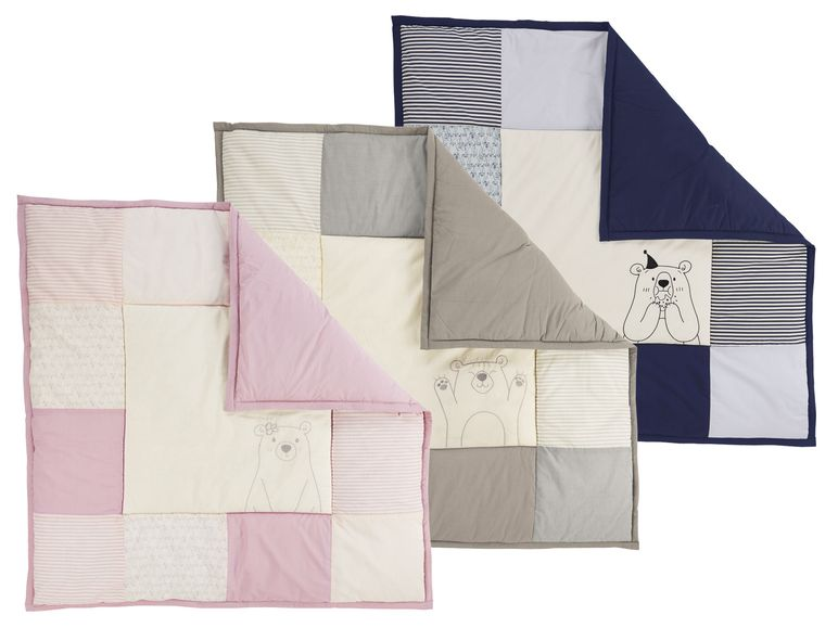 Patchworkdecken verschiedene Farben